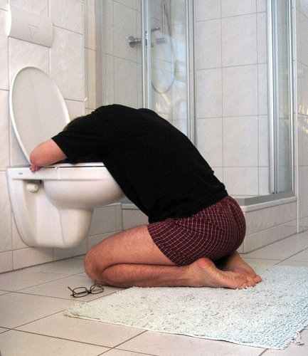 Vomiting is one of the many side effects of Methotrexate